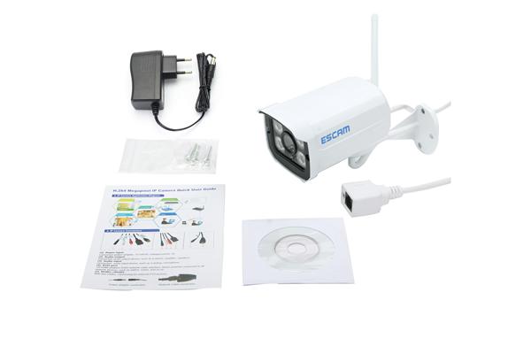 Уличная камера видеонаблюдения с датчиком ESCAM QD900