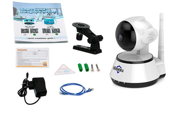 Корпусная камера видеонаблюдения со встроенным датчиком движения Hiseeu FH2A