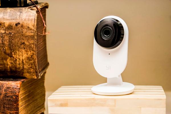 Камера видеонаблюдения Xiaomi YI Home со встроенным датчиком