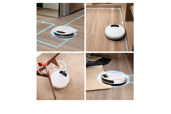 Траектория движения роботизированного пылесоса Fmart E-R550W