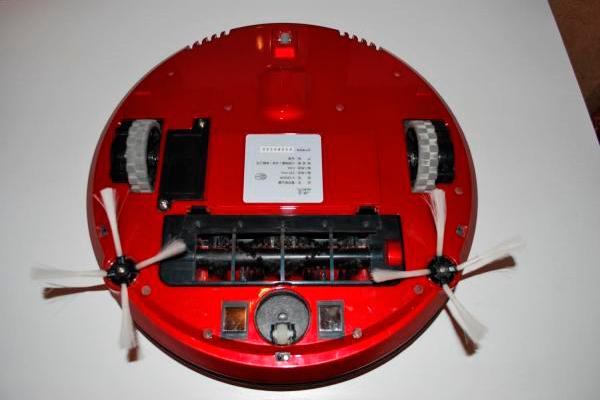 Вид с под низу Робота-пылесоса Puppyoo V-M900R