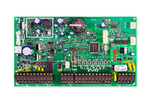 Плата охранной сигнализации Парадокс Digiplex EVO