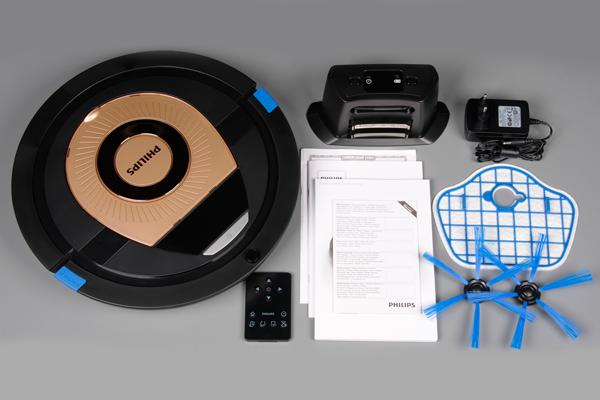 Комплектация робота-пылесоса Philips SmartPro Compact FC8776/01