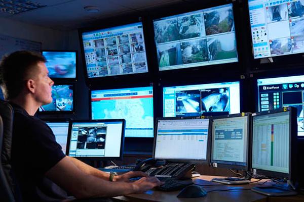 Мониторы для охранного телевидения