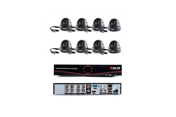 Комплект видеонаблюдения Alfa Indoors 8