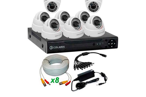 Готовый комплект для внутреннего видеонаблюдения COLARIX Basic Home +