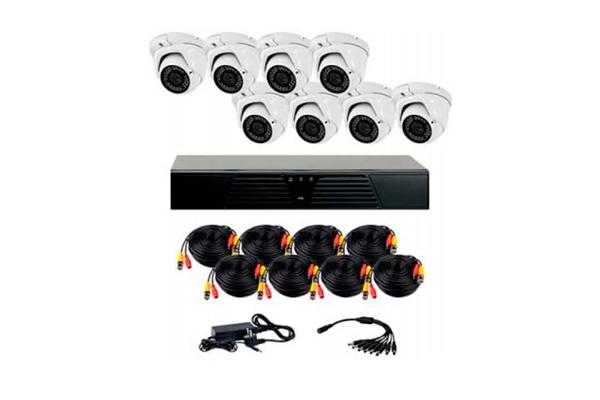 Комплект видеонаблюдения из внутренних камер CoVi Security HVK-4006 AHD PRO KIT