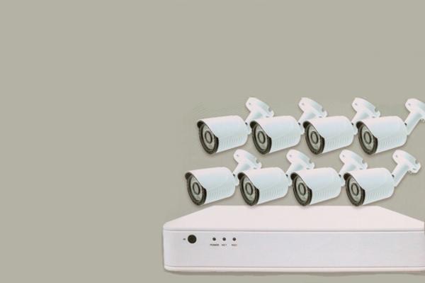 Комплект внешнего IP-видеонаблюдения Green Vision GV-IP-K-L-S14/08 1080P