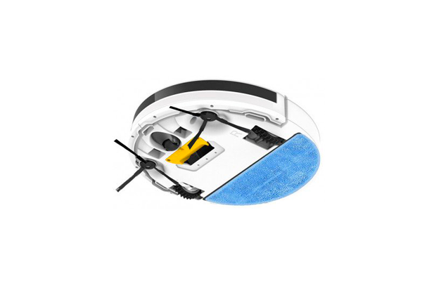 Вид с под низу робота-пылесоса iLife v5s PRO