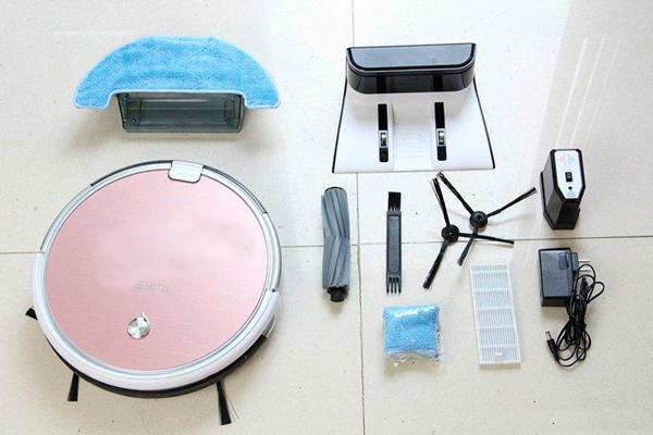Комплектация робота-пылесоса iLife x620