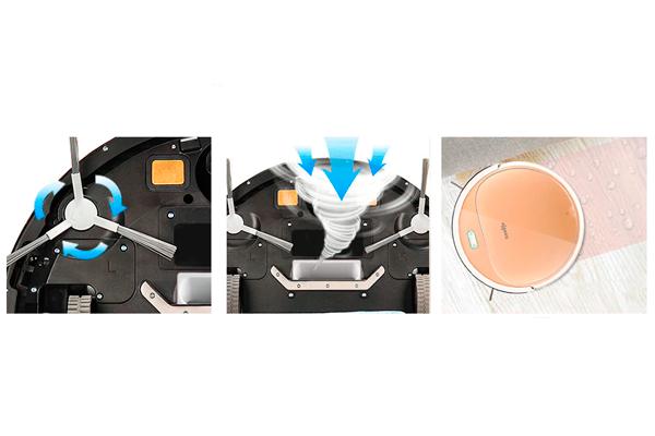 Режимы работы роботизированного пылесоса Iseelife 1300 PA
