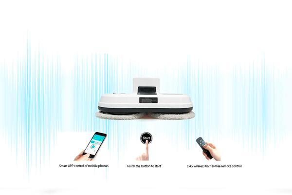 Способы управления роботом мойщиком окон Alfawise S60
