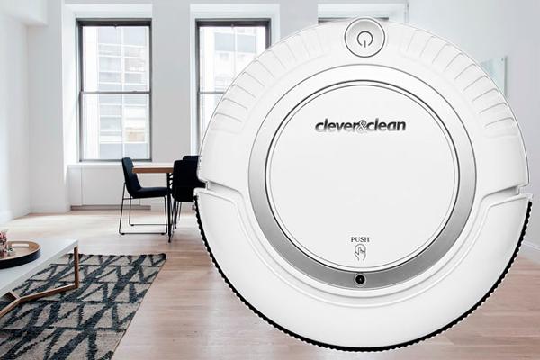Миниатюрный робот-пылесос Clever& Clean 004 M-Series