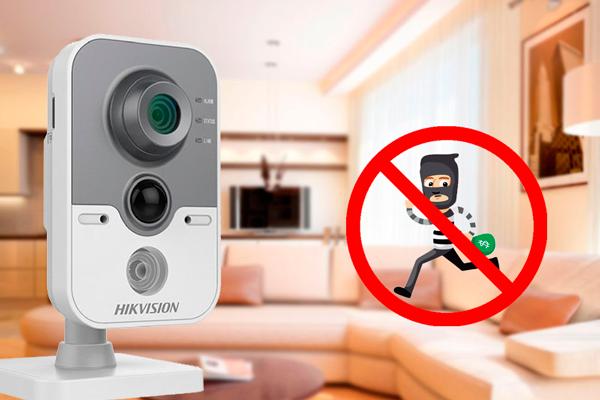 Видеонаблюдение в квартире для защиты от воров