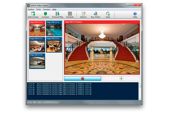 Софт для видеонаблюдения EYELine Video Surveillance
