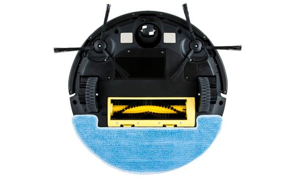 Вид с под низу робота-пылесоса GUTREND STYLE 200 Aqua