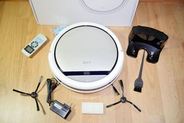 Комплектация роботизированного пылесоса iLife v50