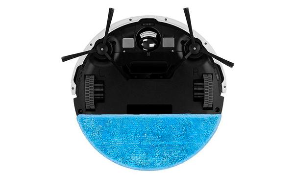 Вид с под низу робота-пылесоса iLife v50
