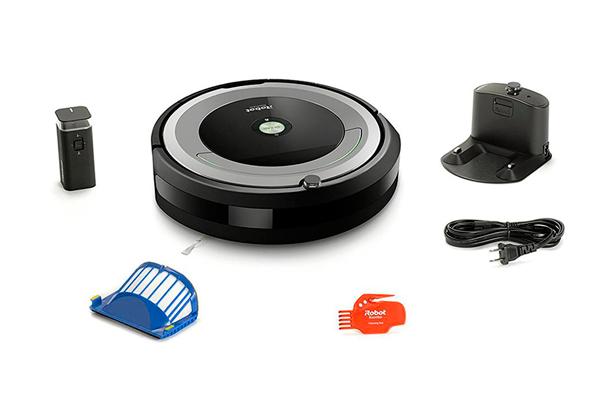 Комплектация робота-пылесоса iRobot Roomba 694