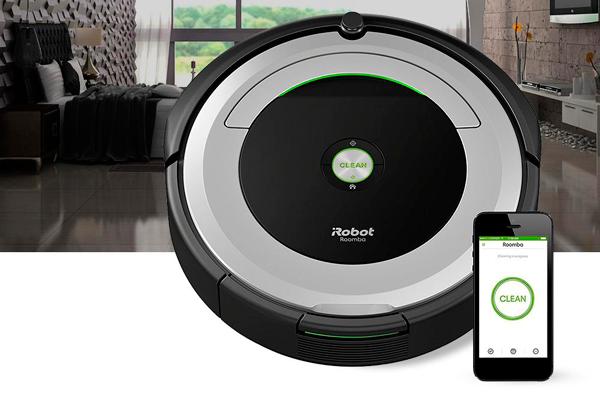 Управление роботизированным пылесосом iRobot Roomba 694 с помощью смартфона