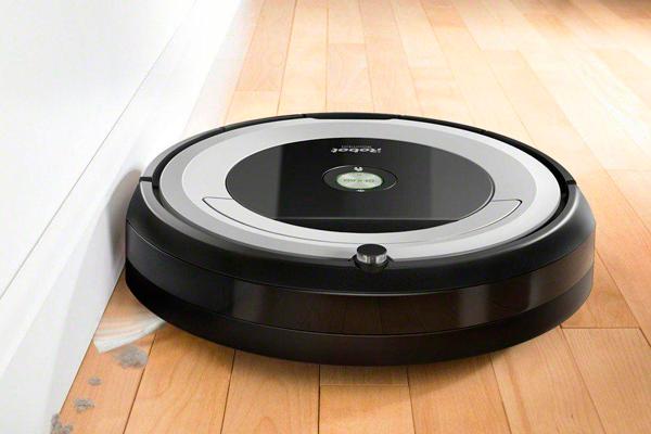 Дизайн робота-пылесоса iRobot Roomba 694