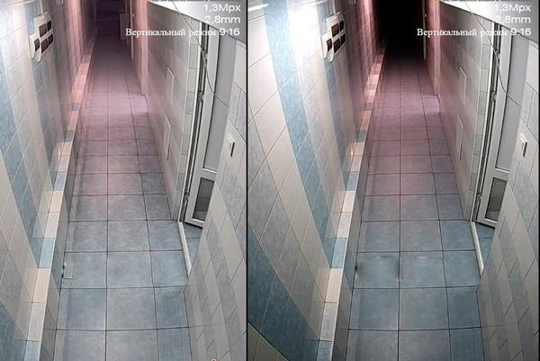 Коридорный режим камеры видеонаблюдения ZetPro
