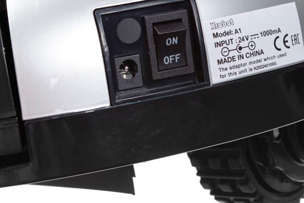 Кнопка включения электропитания робота-пылесоса Xrobot A1