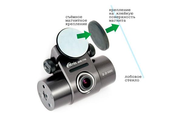 Инструкция по установке двухканального видеорегистратора Ritmix AVR-770
