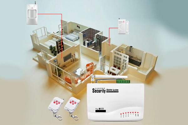 Планировка компонентов GSM сигнализации FUERS GSM10A