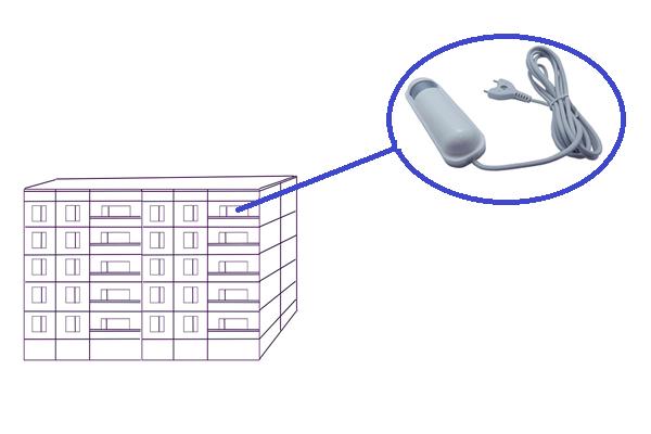Установка датчика протечки воды жителям квартир на верхних этажах