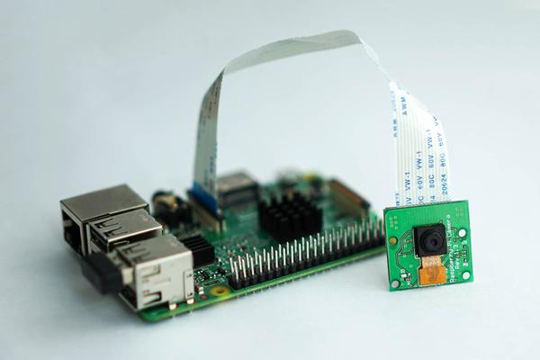 Подключение видеокамеры к плате Raspberry Pi 3