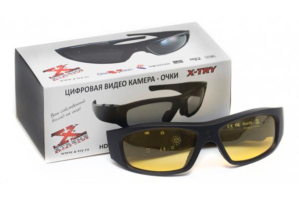 Очки-видеорегистратор X-TRY XTG100 HD