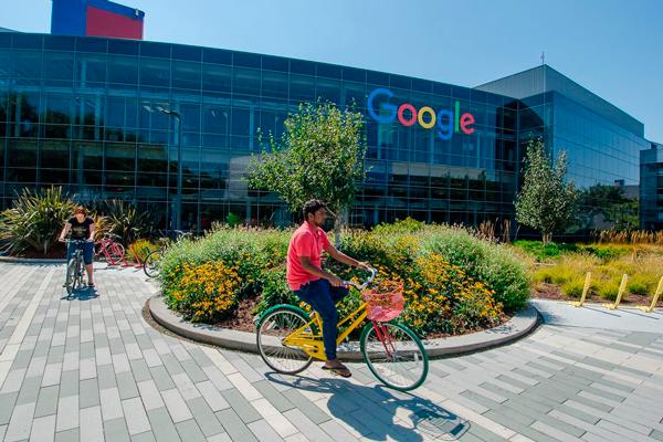 Главный офис компании Google в Калифорнии