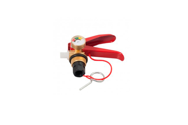 Запорно пусковое устройство огнетушителя порошкового ОП-1