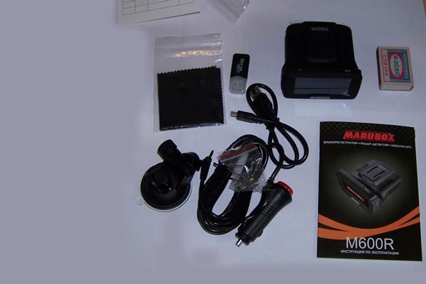 Комплект гибридного видеорегистратора Marubox M600R