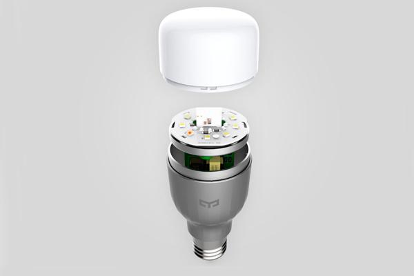 Устройство смарт-лампочки Xiaomi Yeelight LED