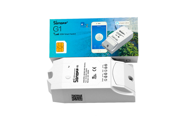 GSM реле для «умного дома» Sonoff