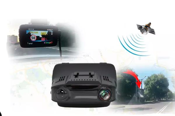 Схема обнаружения радара видеорегистратором