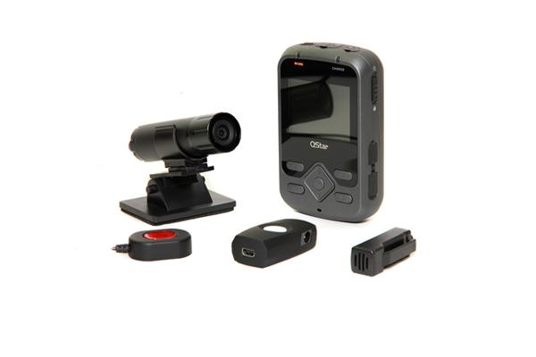 Комплект видеорегистратора для мотоциклистов Q-Star A7 Drive