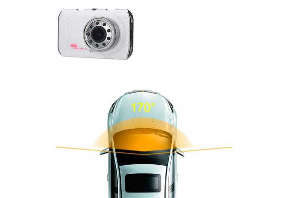 Угол обзора Full HD видеорегистратора