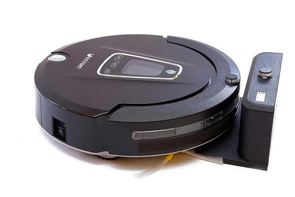 Процесс автоматической зарядки робота-пылесоса Kitfort KT-512