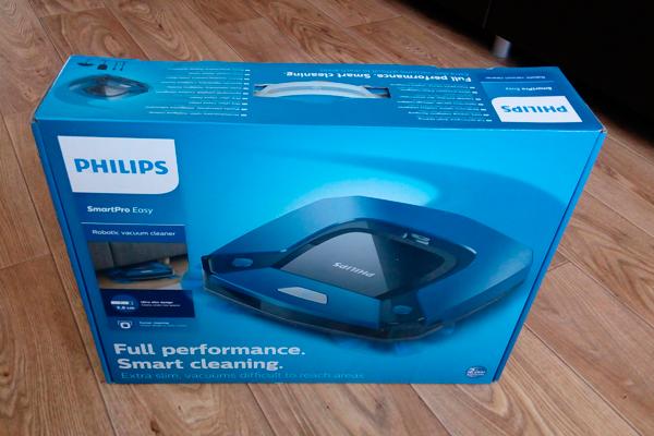 Робот-пылесос Philips SmartPro Easy FC8792/01 в коробке