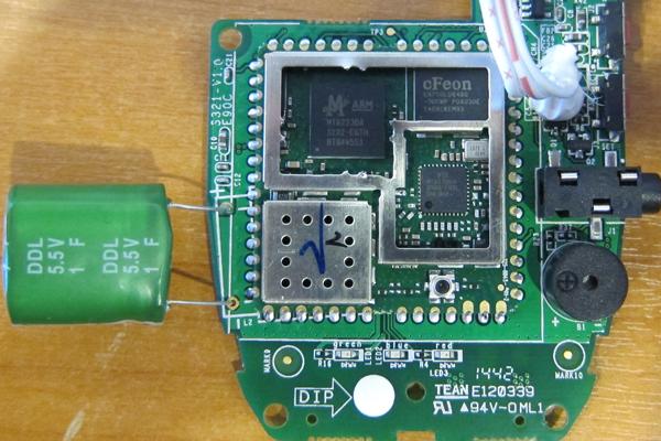 Электронный блок GSM розетки Senseit GS2 M