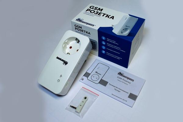 Комплектация GSM розетки Simpal T40