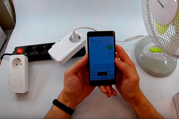 Управление GSM розеткой Simpal T40 с помощью смартфона