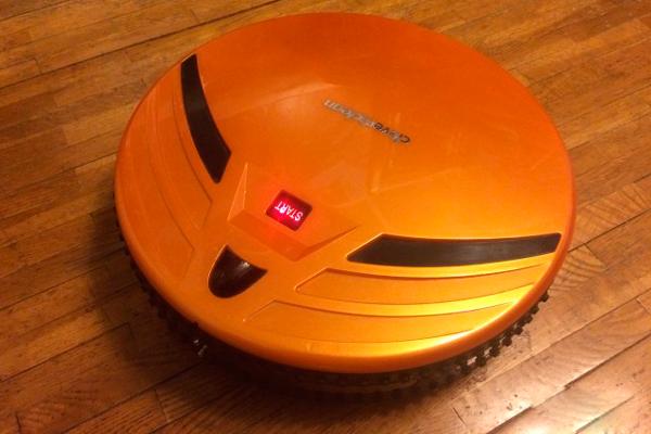 Внешний вид робота-пылесоса Clever Clean Z10A