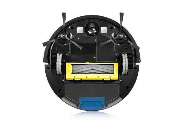 Вид с под низу робота-пылесоса Genio Deluxe 500