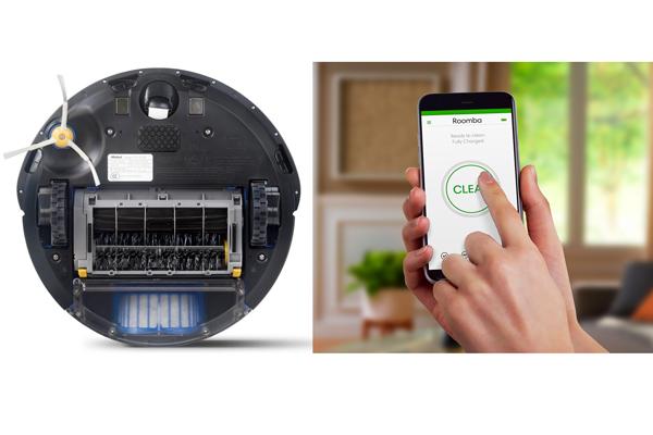 Управление умным пылесосом iRobot Roomba 676 с помощью смартфона