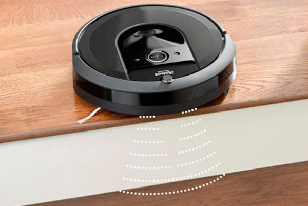 Датчики высоты робота-пылесоса iRobot Roomba i7