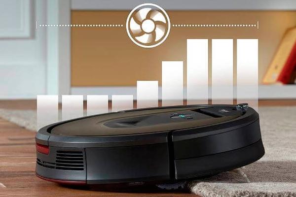 Преодоление высоты роботом-пылесосом iRobot-Roomba980